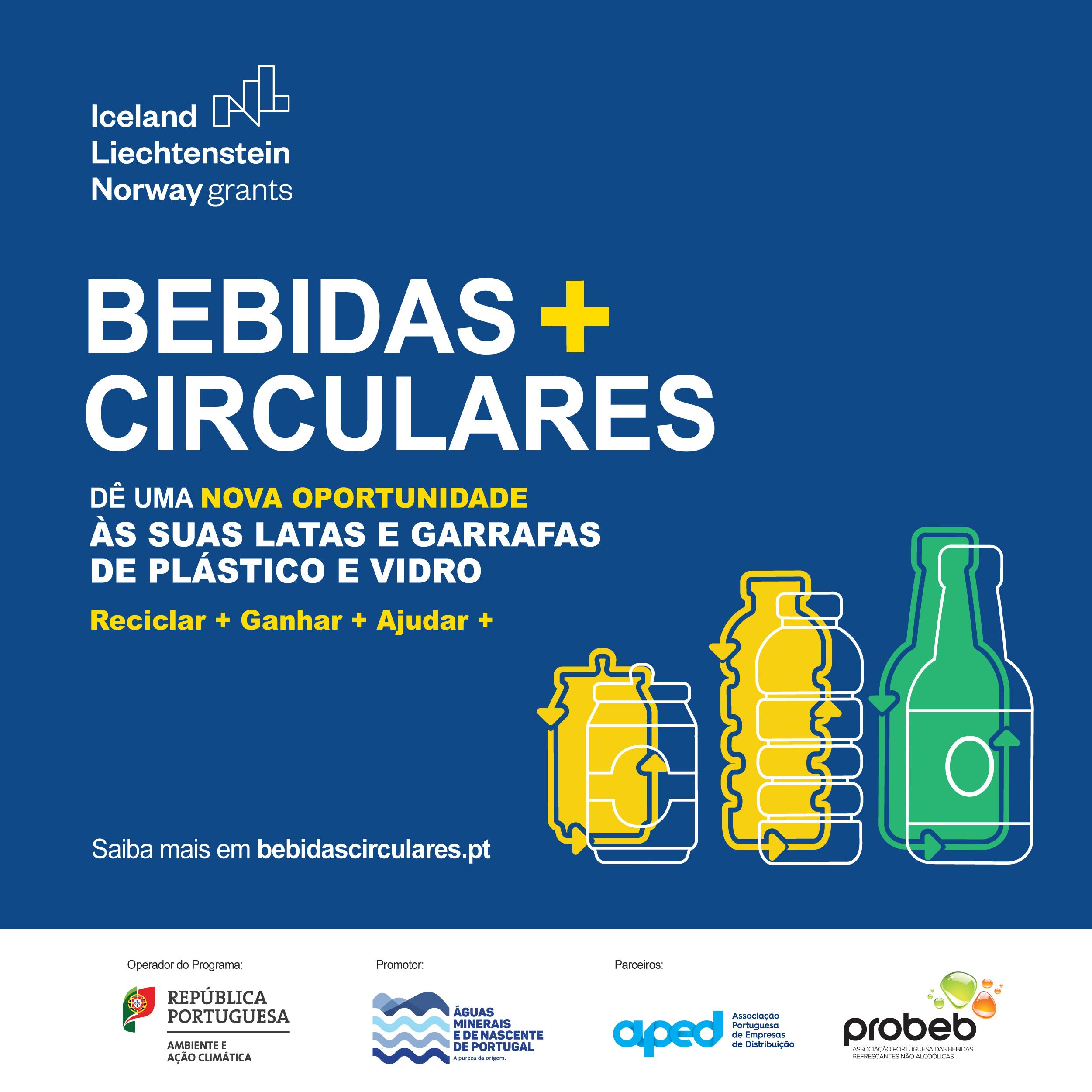 "Projeto ""Bebidas+Circulares"" arranca com 11 pontos de recolha"