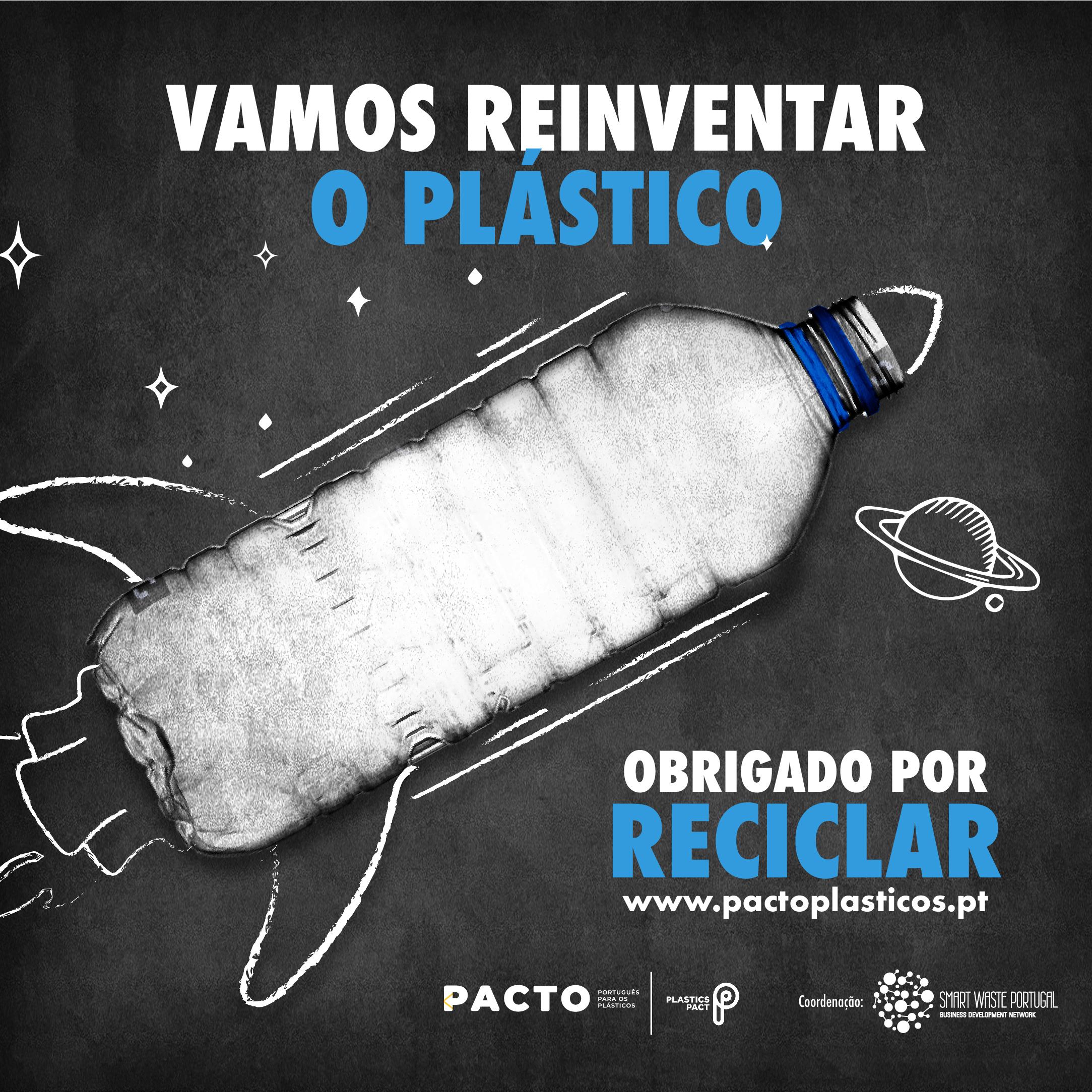 """Campanha """"Vamos Reinventar o Plástico"""""""